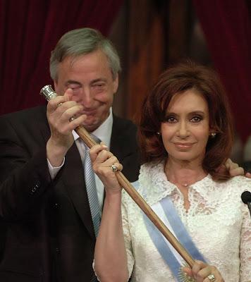 Cristina y Néstor Kirchner, tus presidentes judíos.