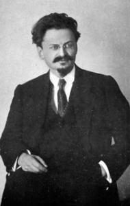 Lev Bronstein, alias León Trosky