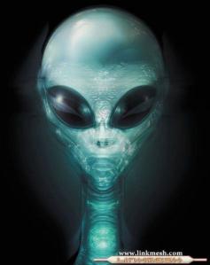 El presidente extraterrestre Xyzylosal-25.