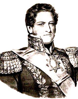 Juan Manuel de Rosas. Exponente del federalismo argentino.