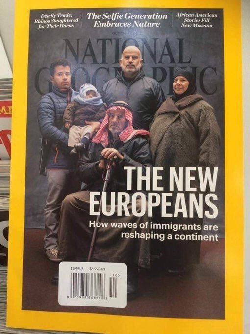 Los nuevos europeos.