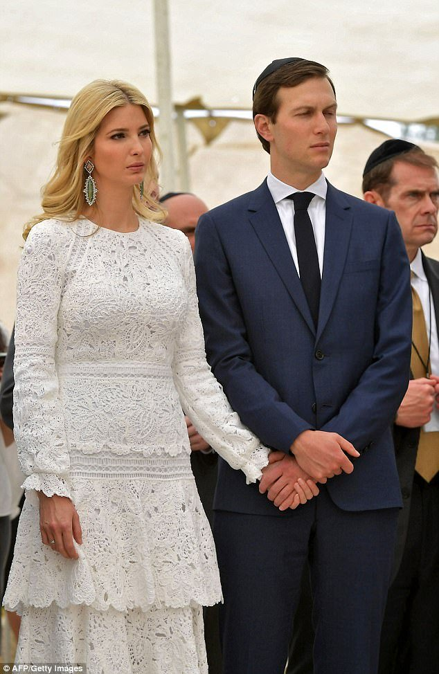 Satanic Zionist Jewess Ivanka Trump & husband Satanic Kushner both Dedicated Babylonian Talmudist, jewish supremists!