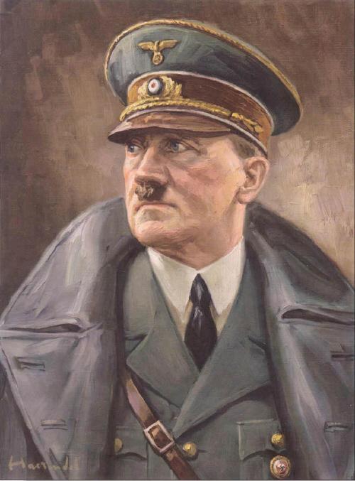 Adol Hitler - Portait