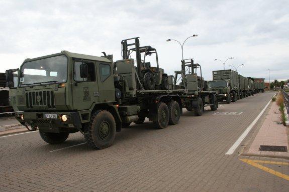 ( ESP ) ¨Hay que controlar aeropuertos y puertos ¨ ( CUP, golpistas ), y se movilizan unos 6.000 militares de la BRIPAC destino aCataluña