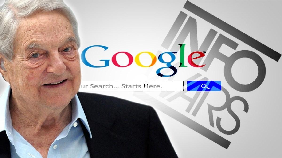 Google y una red financiada por Soros se unen para controlar resultados en búsqueda denoticias