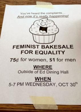 Image result for feminist bake sale